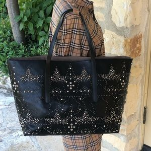 NWT jimmy choo studded large tote